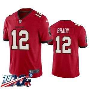 Tampa Bay Buccaneers Tom Brady Red Jersey